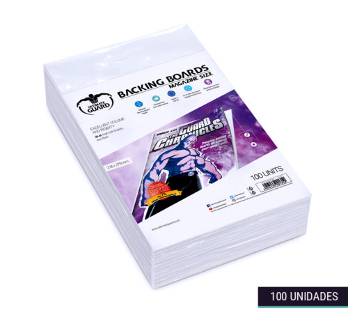 Backing Boards Comic Magazine Size 218x279mm